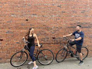 Bike Riding through Historic Downtown Sanford